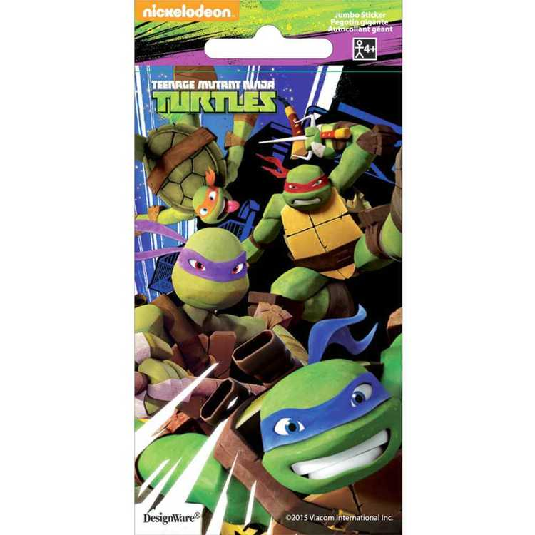 Nickelodeon Teenage Mutant Ninja Turtles Jumbo Stickers