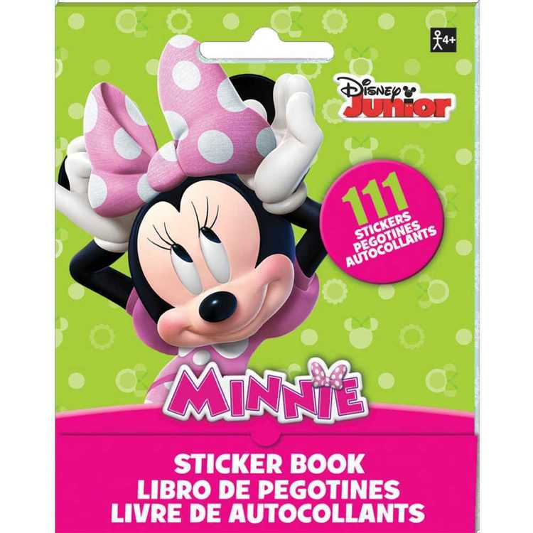 Disney Minnie Mouse Sticker Booklet