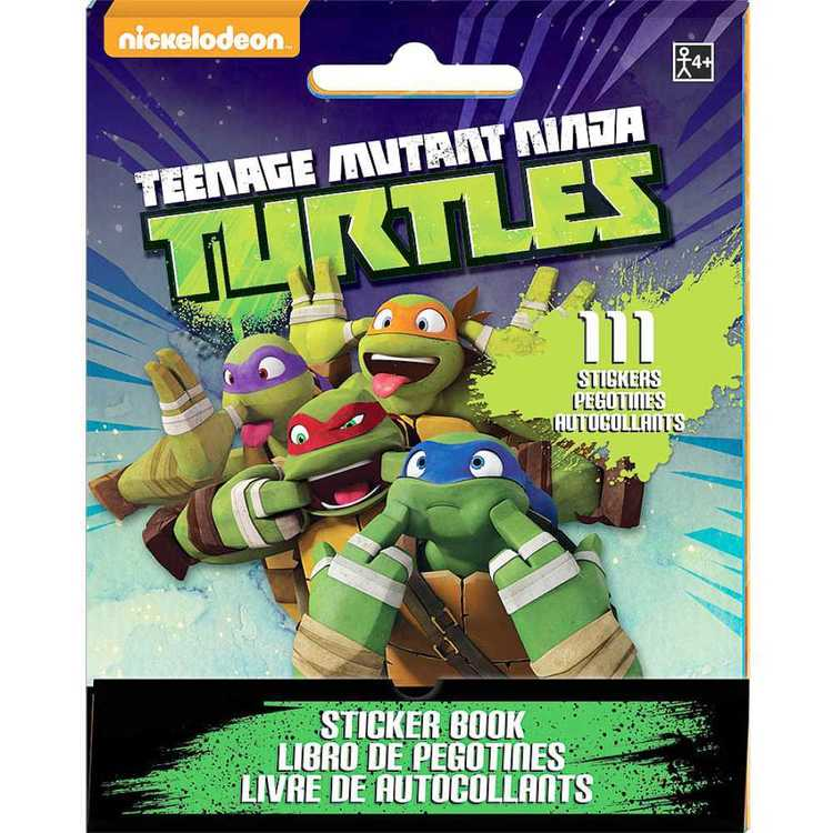Nickelodeon Teenage Mutant Ninja Turtles Sticker Booklet