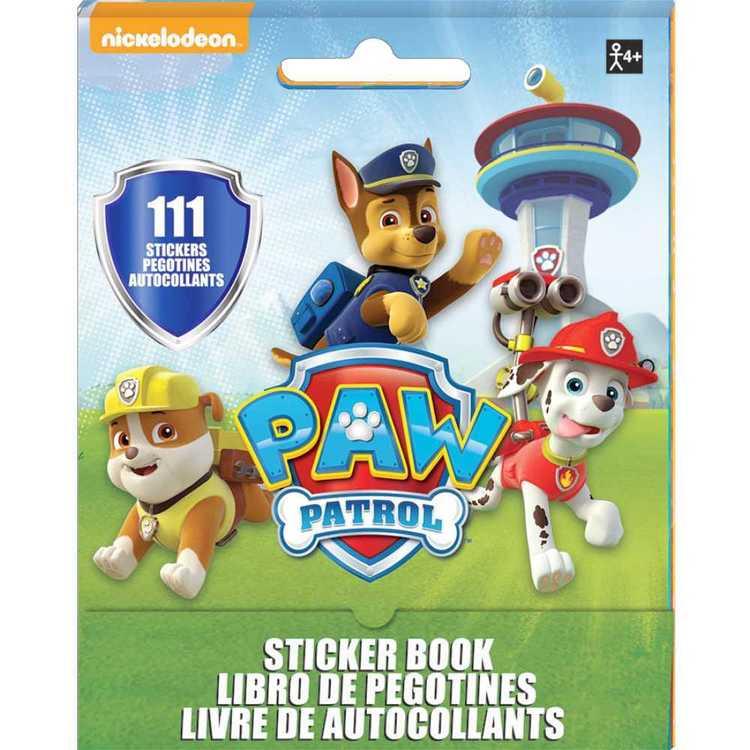 Paw Patrol Nickelodeon Sticker Booklet