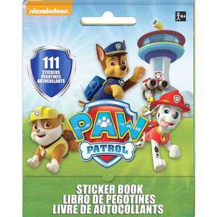 Paw Patrol Nickelodeon Sticker Booklet