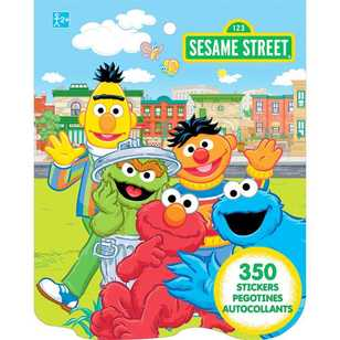 Sesame Street Sticker Book
