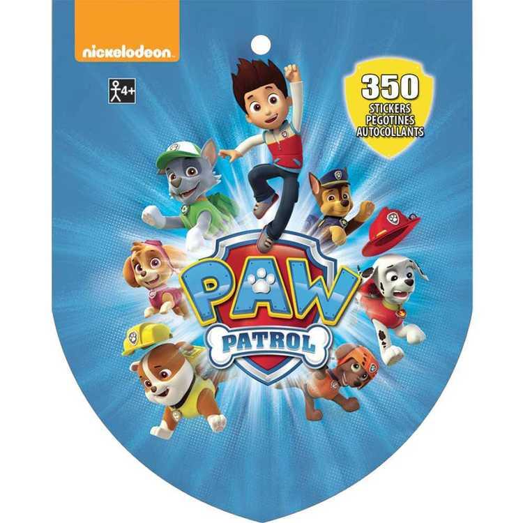 Paw Patrol Nickelodeon Sticker Book