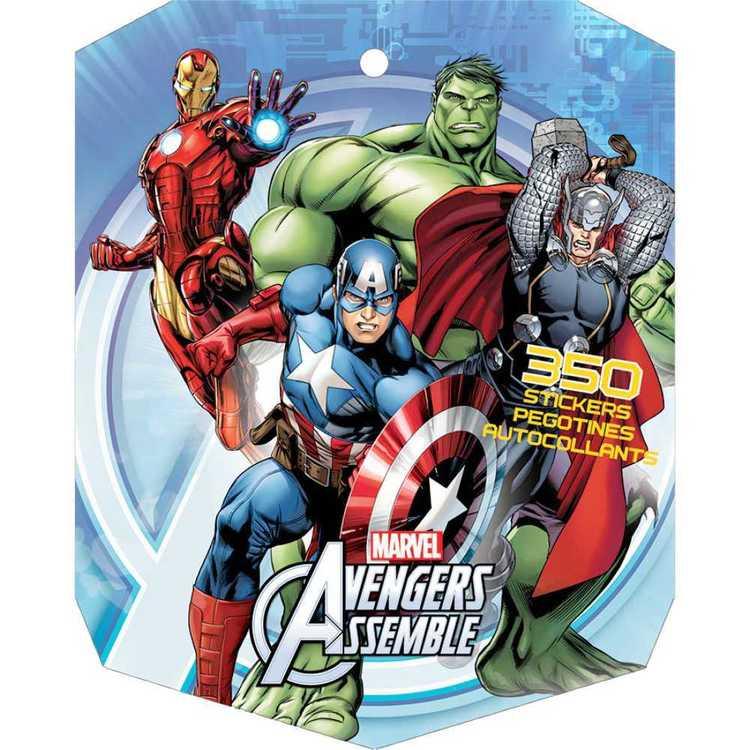 Avengers Marvel Avengers Sticker Book