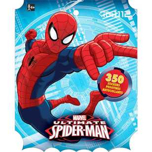 Spider-Man Spider-Man Sticker Book