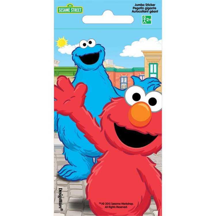 Sesame Street Jumbo Stickers