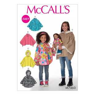 McCall's Pattern M7460 Childrens