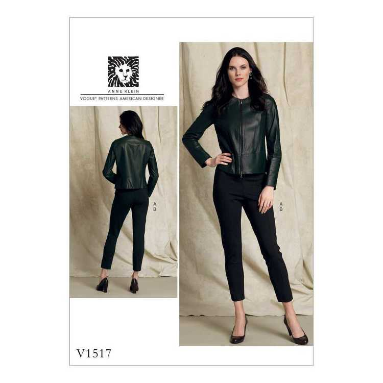 Vogue Pattern V1517 Misses Jacket & Pants