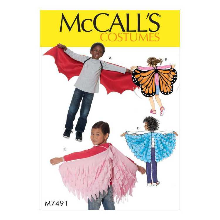 McCall's Pattern M7491 Kids Bat