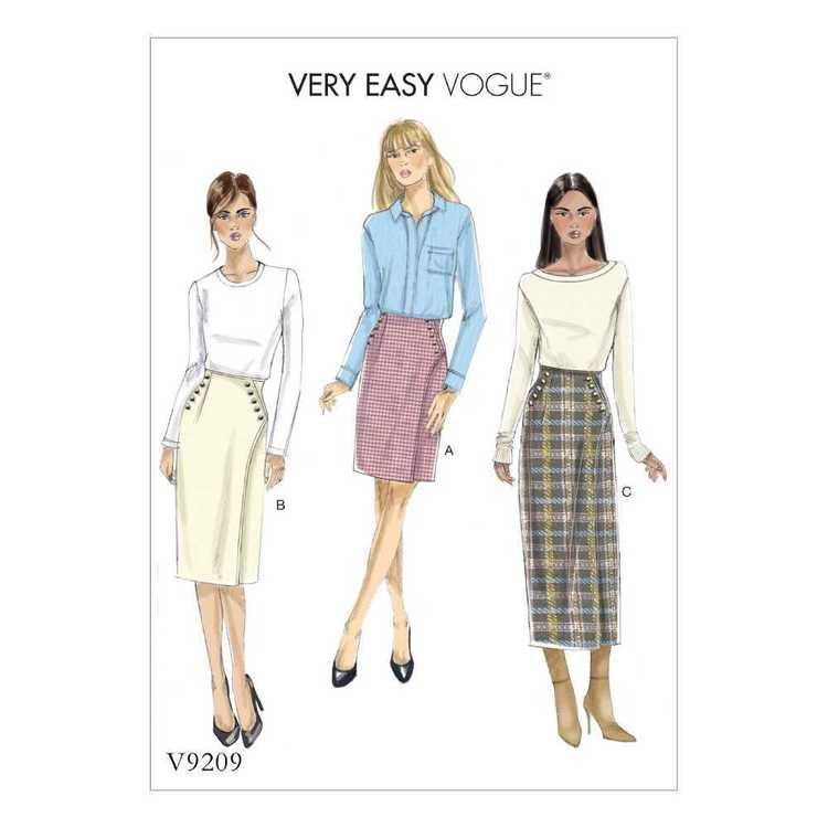 Vogue V9209 Misses Skirt