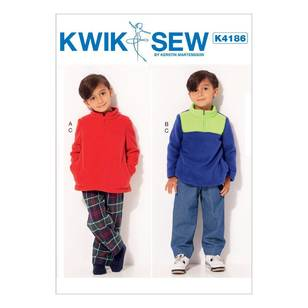 Kwik Sew Pattern K4186 Boys Jackets & Pants