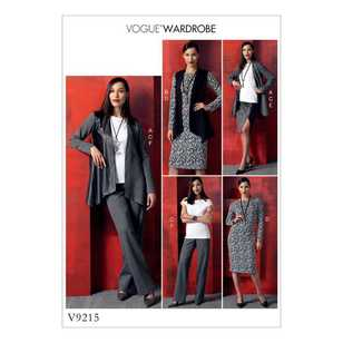 Vogue Pattern V9215 Misses Jacket