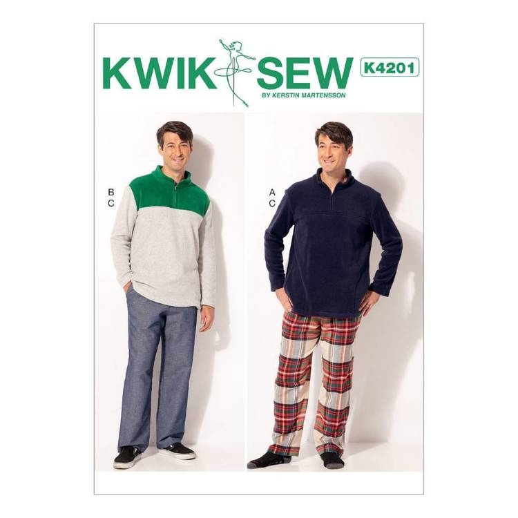 Kwik Sew Pattern K4201 Mens Jackets & Pants