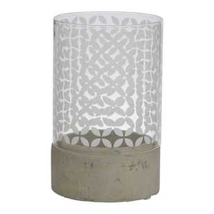 Emporium Willow Cement Tealight Holder