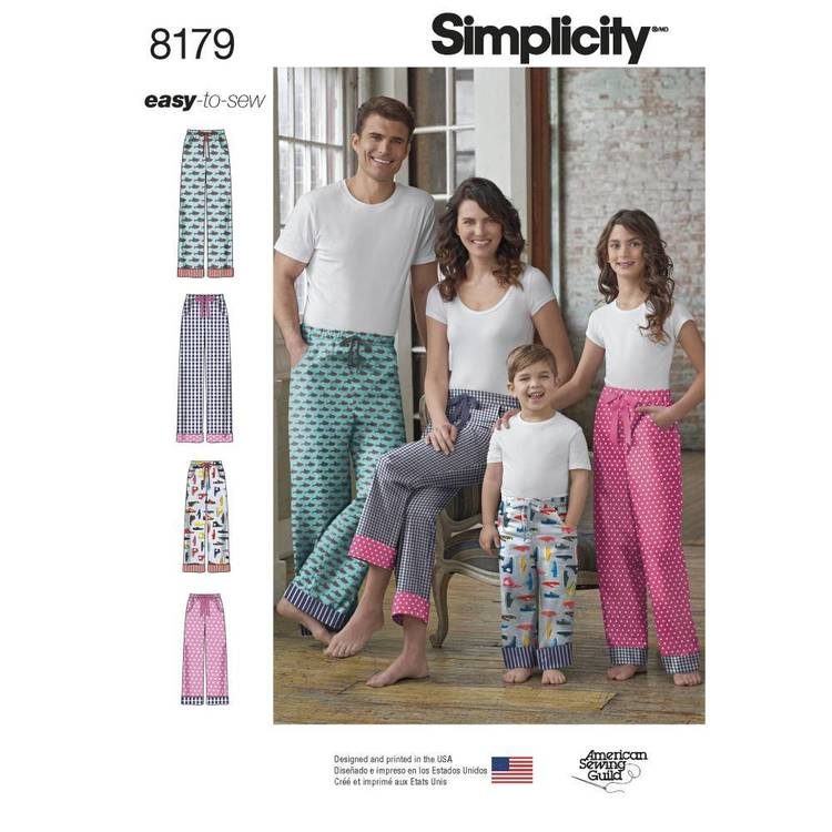 Simplicity Pattern 8179 Child
