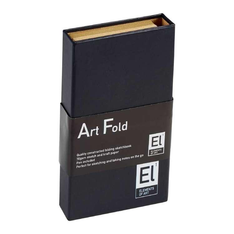 Elements Of Art  Fold Sketchbook
