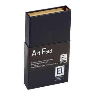Elements Of Art  Fold Sketchbook