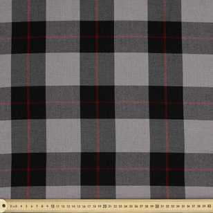 Viscose Check Polyester