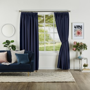 Bella Collection Abbey Pencil Pleat Curtain