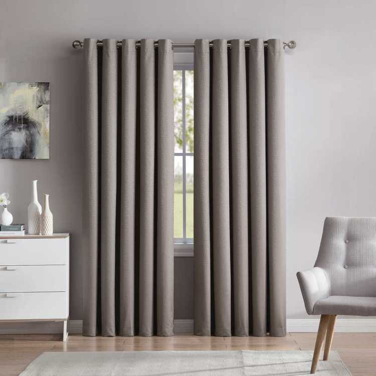 Bella Collection Abbey Eyelet Curtain