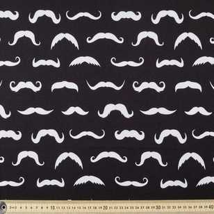 Mustache Combed Cotton Jersey