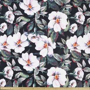 Camellia Printed Cotton Sateen