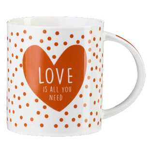 Casa Uno Love Is All You Need Bulk Mug