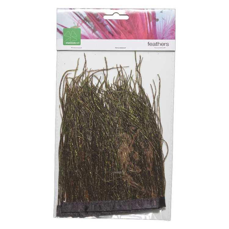 Natural Peacock Grass Satin Ribbon