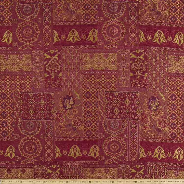 Amala Patchwork Textured Jacquard