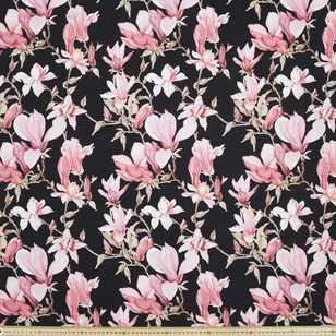 Magnolia Printed Cotton Sateen