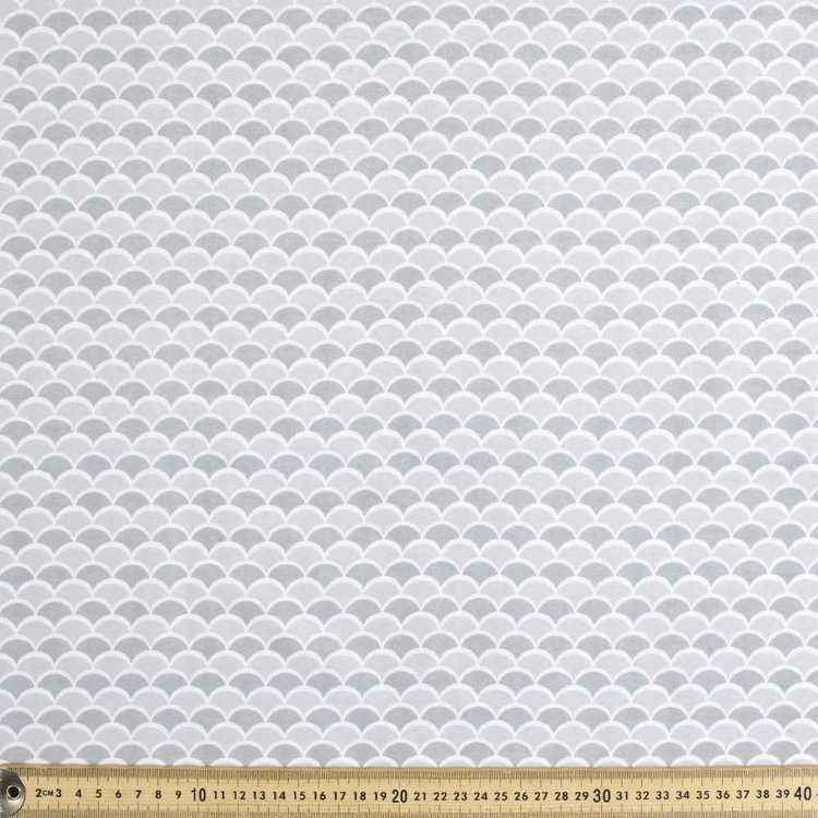 Scales Printed Flannelette