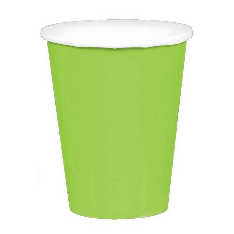 Amscan Kiwi Paper Cups 20 Pack