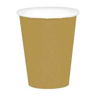 Amscan Gold Paper Cups 20 Pack