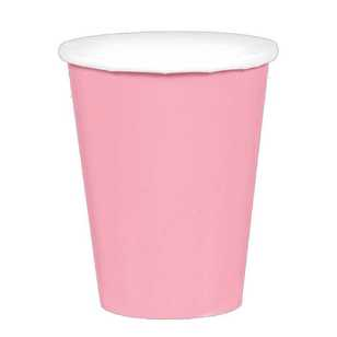 Amscan New Pink Paper Cups 20 Pack