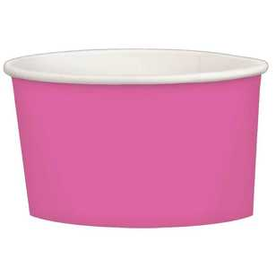 Amscan Bright Pink Paper Treat Cups 20 Pack