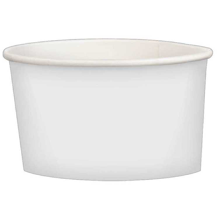 Amscan White Paper Treat Cups 20 Pack