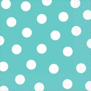Amscan 2 Ply Dots Lunch Napkins