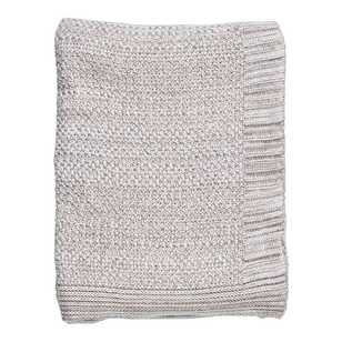 Living Space Marcel Knitted Throw