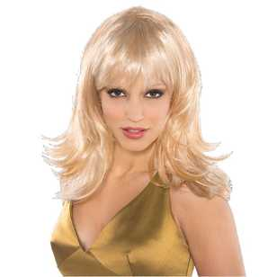 Amscan Feather Shag Wig