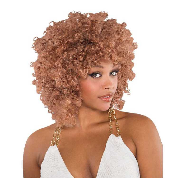 Amscan Runway Afro Wig