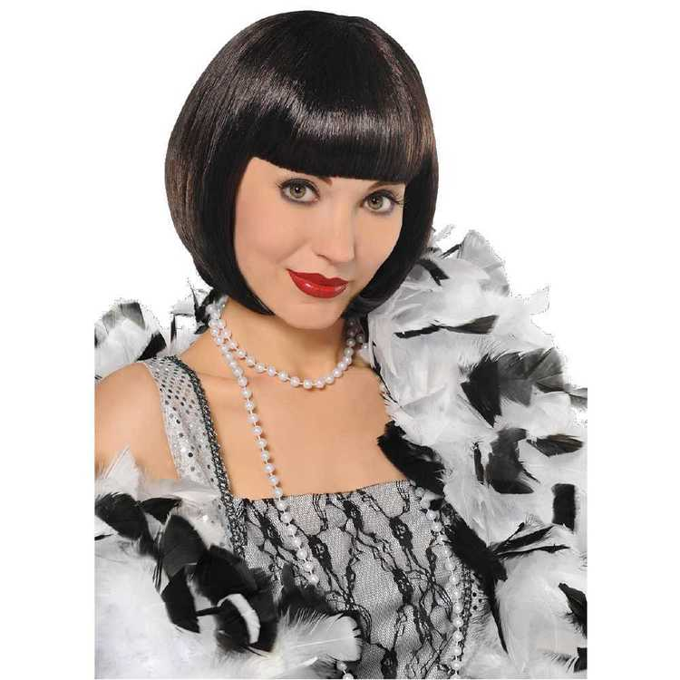 Amscan Flapper Wig Black