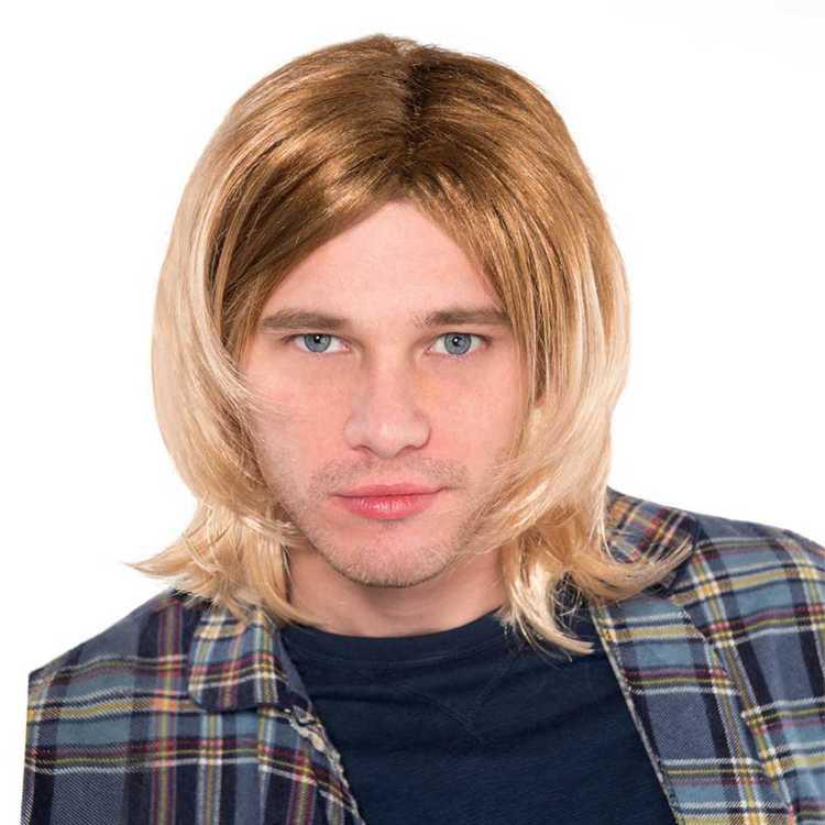 Amscan 90's Rock Star Wig