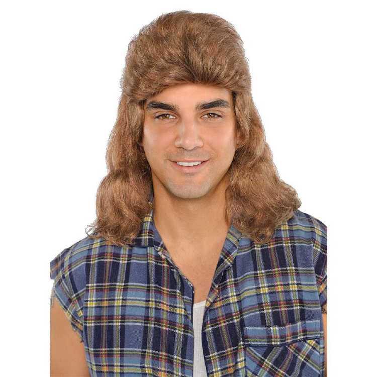 Amscan Mullet Head Wig