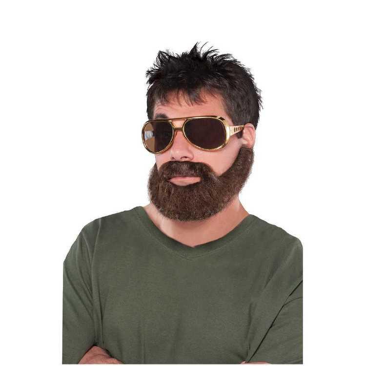 Amscan Hung-Over Moustache & Beard