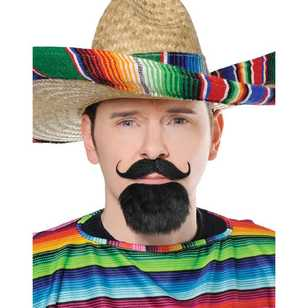Amscan Facial Hair Fiesta Set