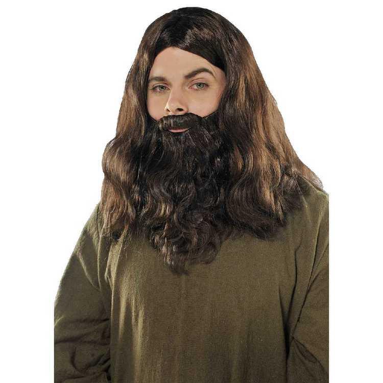 Amscan Wig & Beard Set