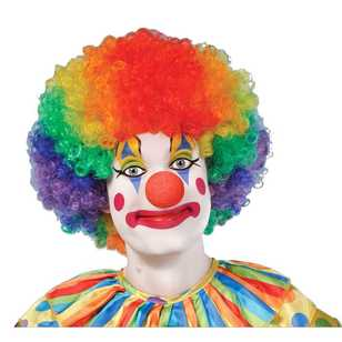 Amscan Jumbo Clown Wig