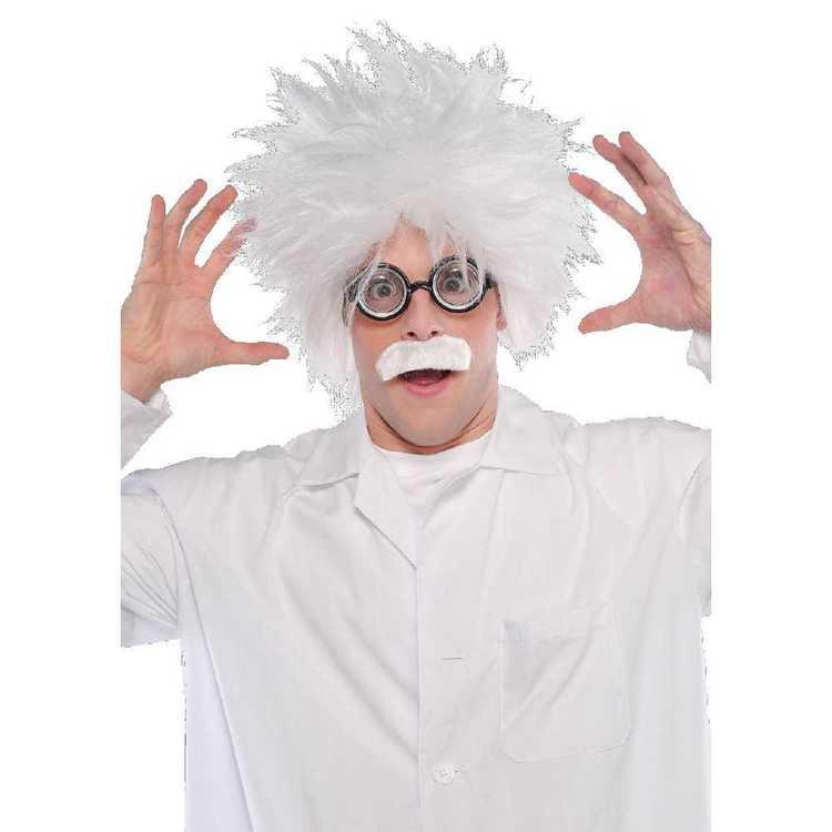 Amscan Kit Mad Scientist Wig