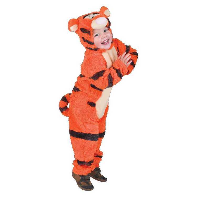 Disney Winnie The Pooh Tigger Furry Costume