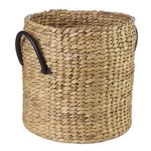 Living Space Matilda Round Basket With Handle